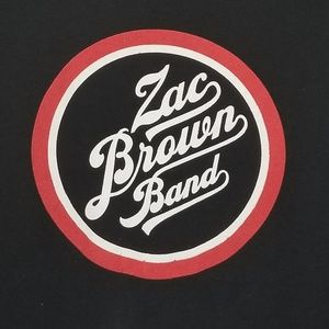Zach Brown Band 2014 Concert T 2 sided size M